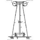 Tesla Coil Patent Black  by Vesaints