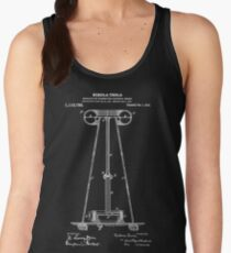 Tesla Coil Patent White Women's Tank Top