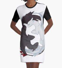 Toothless and the Light Fury Graphic T-Shirt Dress