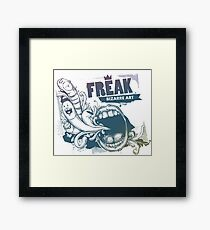 FREAK BIZARRE ART Framed Print