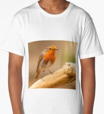 Robin with catch Long T-Shirt