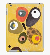 50s 60s style retro colourful design iPad Case/Skin