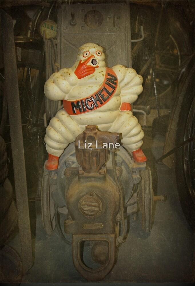 Vintage Michelin Man by Liz Lane