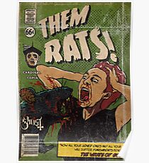 RATS - Ghost Comic Series Poster