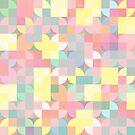 Pastel Squares by Georg Varney