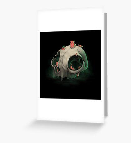Nine Lives Greeting Card