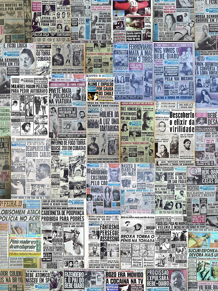 Newspaper Pattern  by Philipe3d