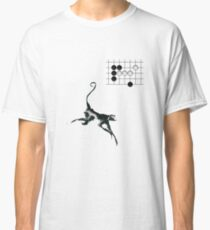 Monkey Jump - Weiqi Go Baduk Board Game Classic T-Shirt