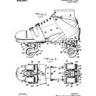 Roller Skate Patent Black by Vesaints