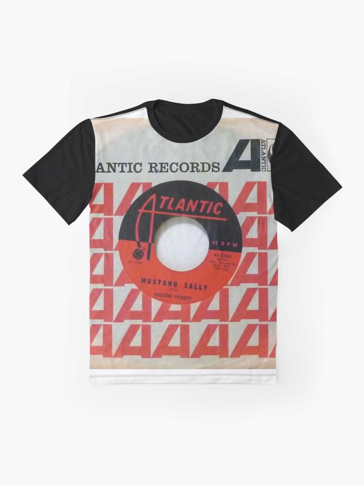 Alternate view of Wilson Pickett, Mustang Sally, Soul, Funk, 45  Graphic T-Shirt
