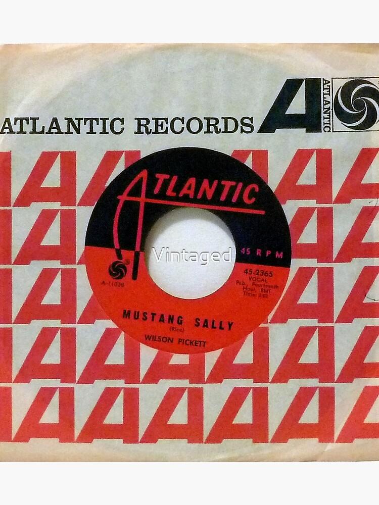 Wilson Pickett, Mustang Sally, Soul, Funk, 45  by Vintaged