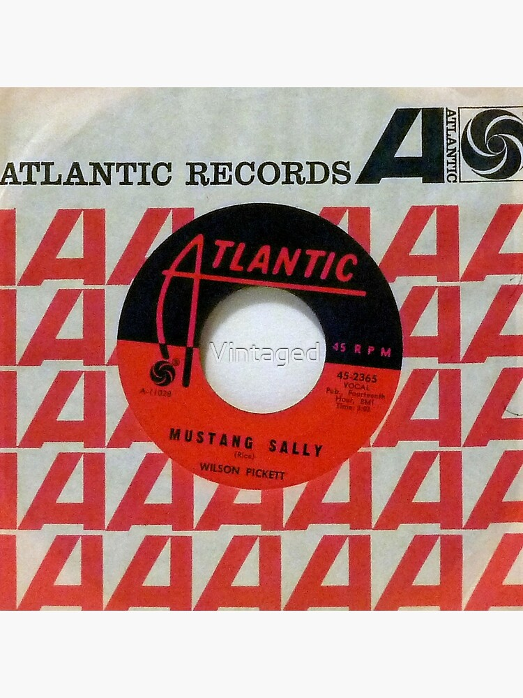 Wilson Pickett, Mustang Sally, Soul, Funk, 45  by Vintaged