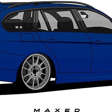 3 Series Wagon 2005 (Bimmer Blue) by monstta