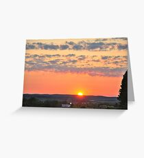 Chautauqua Landscape I Greeting Card