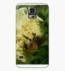Bee on a Yellow Flower Case/Skin for Samsung Galaxy
