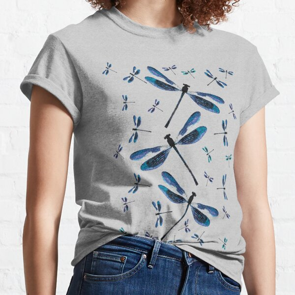 Dragonfly, Dragonflies, Magical Insects  Classic T-Shirt