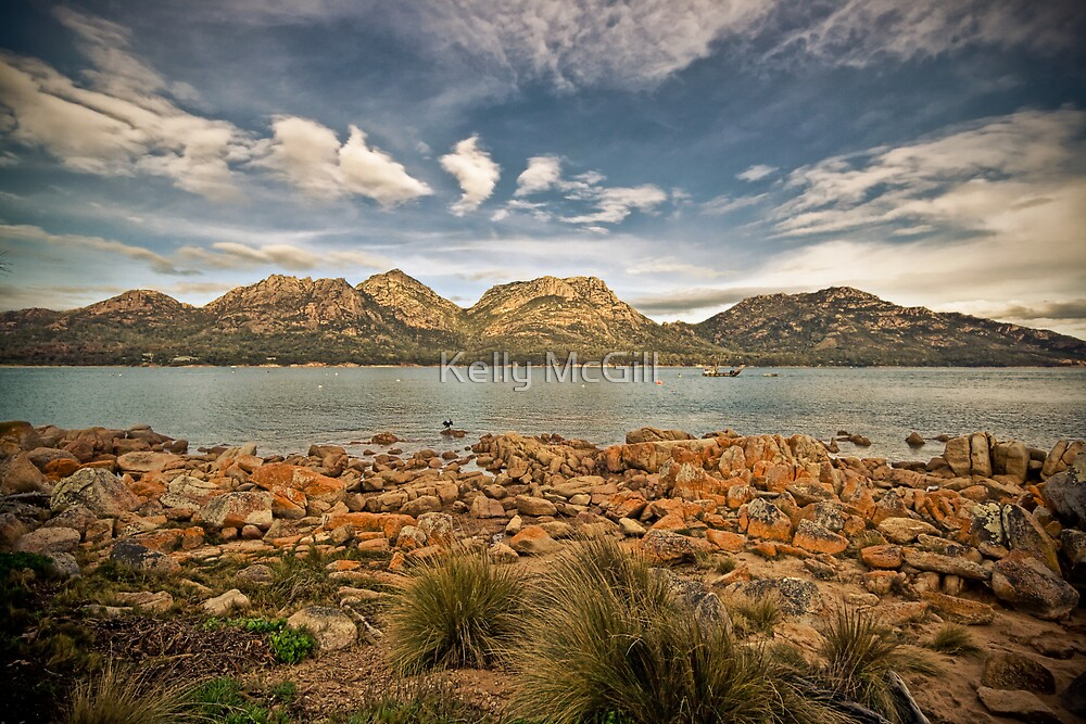 Coles Bay, Tasmania by Kelly McGill