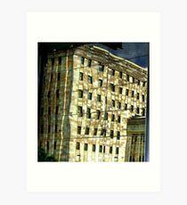 Sandstone Architecture Art Print