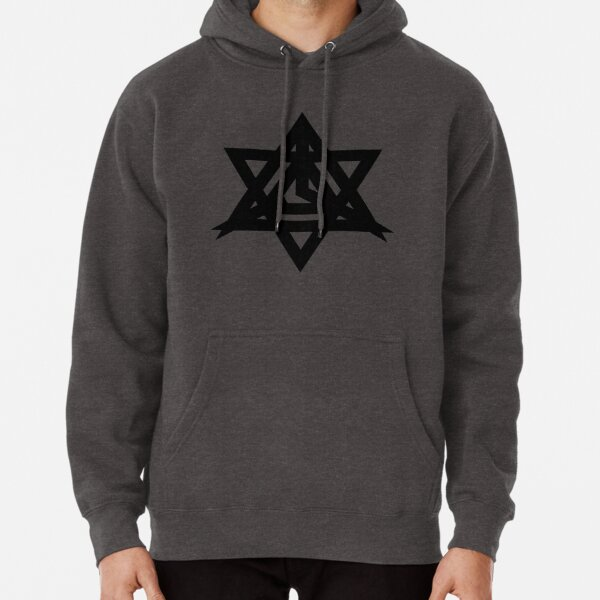 Triangle of the Shifting Brain Pullover Hoodie