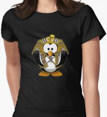 cute penguin Women's Fitted T-Shirt