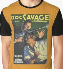 Doc Savage Cold Death Graphic T-Shirt