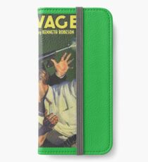 Doc Savage Cold Death iPhone Wallet/Case/Skin