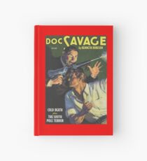 Doc Savage Cold Death Hardcover Journal