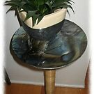 Verdant Series Side Table/Plant stand by Kaz Rhoads