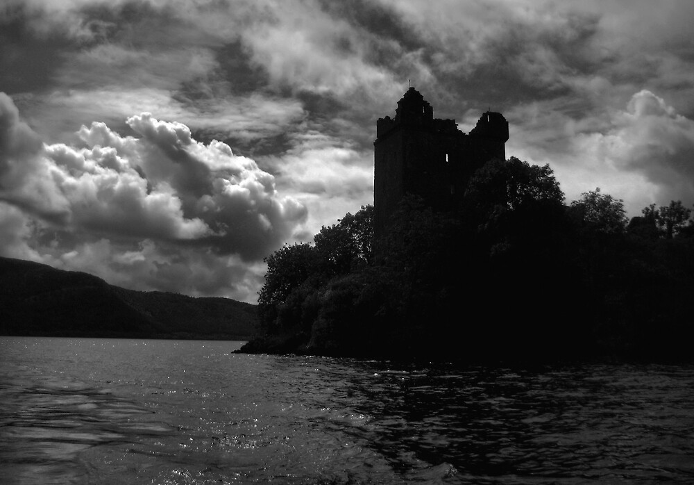 On Loch Ness by p r