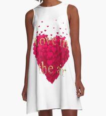Love in the air A-Line Dress