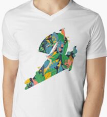 NAO-TEE Men's V-Neck T-Shirt