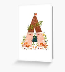 A is for Abode Greeting Card