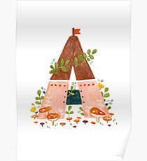 A is for Abode Poster