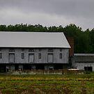 A Classic Barn ....in it's hay day.... by Larry Llewellyn