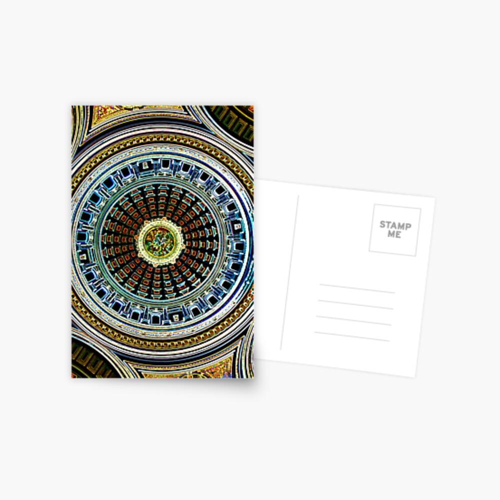Rotunda Glow Postcard