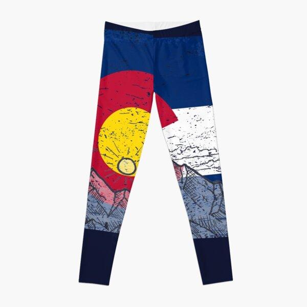All Over Shirts Colorado Flag Leggings