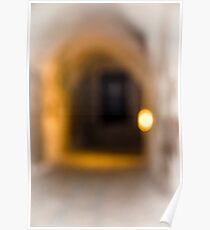 The light at the end of the tunnel - Soft Focus  Poster