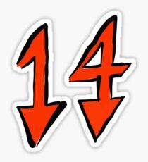 Trippie Redd 14 Sticker