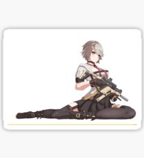 Vector - Girl's Frontline, Sexy Anime Chick Sticker