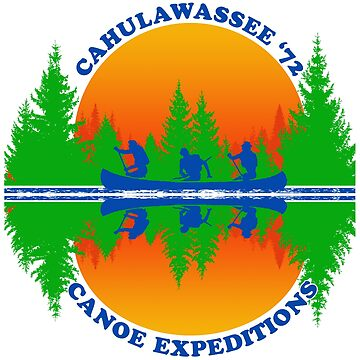 Cahulawassee River Canoe Expeditions by superiorgraphix