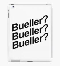 Bueller? iPad Case/Skin