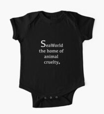 seaworld animal cruelty  Kids Clothes