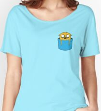 Adventure Time - Jake Pocket Pal Women's Relaxed Fit T-Shirt