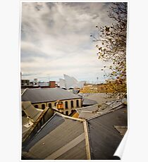 Rooftop Living Poster