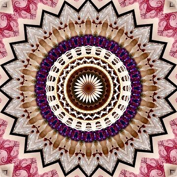 Breath of Light Mandala by wildmirror