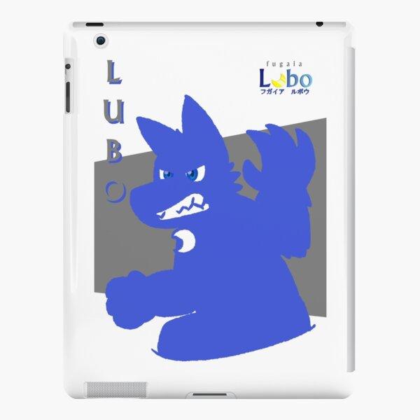 Nite Lubo Silhouette (Blue) iPad Snap Case