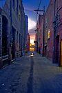 Twilight Alley by photosbyflood