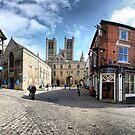 Lincoln Cathedral Panoramic 2 by Paul Thompson Photography
