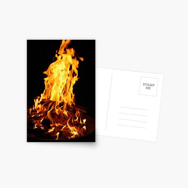 birthday bonfire Postcard