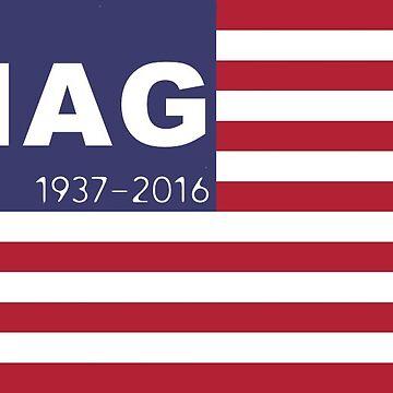 Merle Haggard - The HAG by skegeebeast
